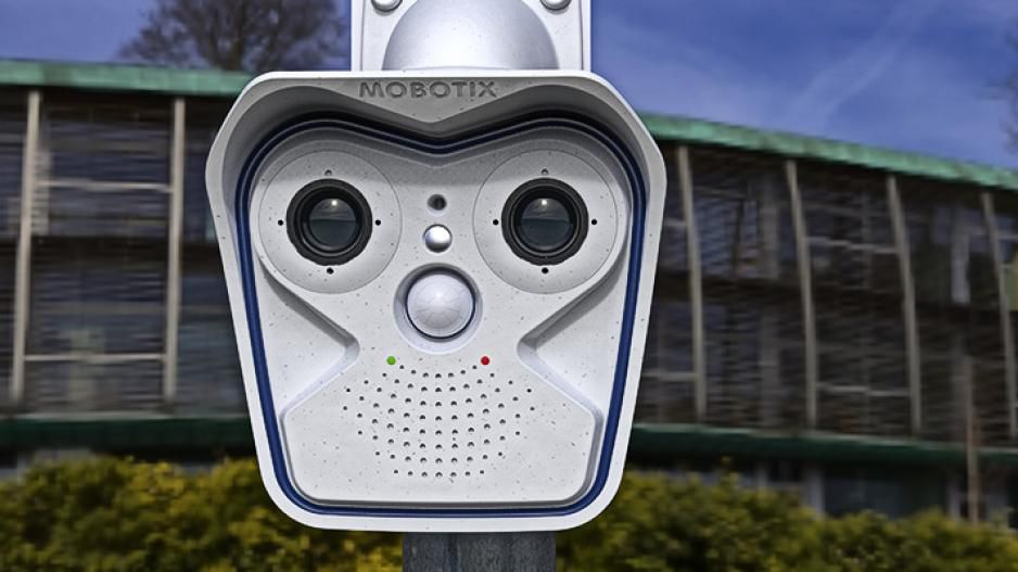 Mobotix video surveillance camera