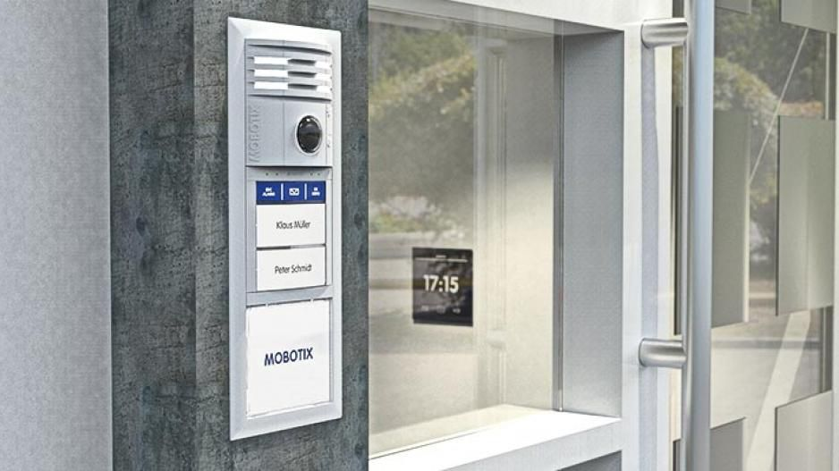 Mobotix video door station