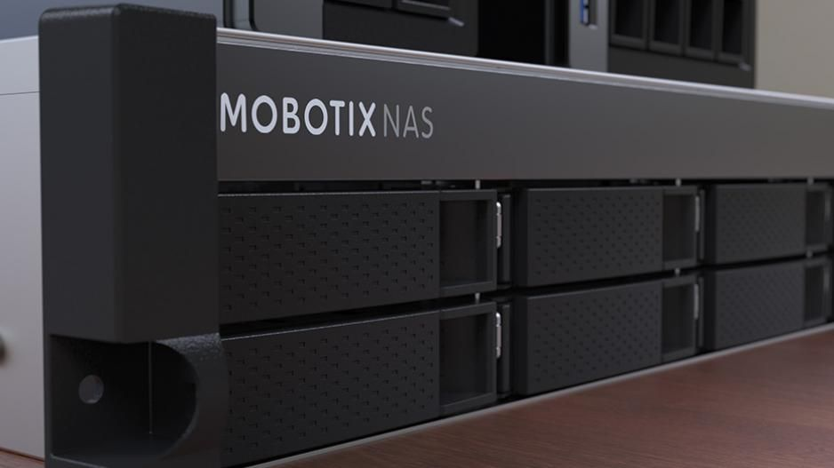 Mobotix NAS data storage